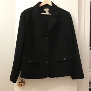 Host Pick!! 👍 L L Bean black blazer XL